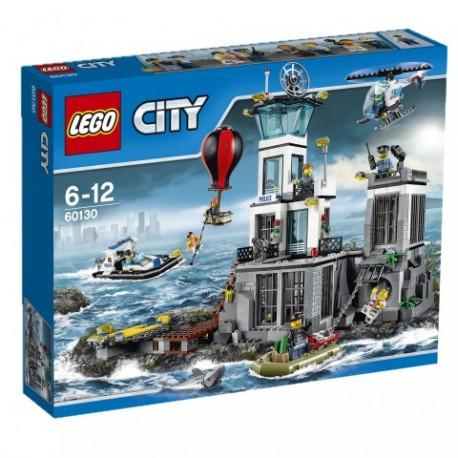 LEGO - CITY POLICE - WIĘZIENNA WYSPA - 60130