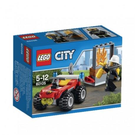 LEGO - CITY FIRE - STRAŻACKI QUAD - 60105