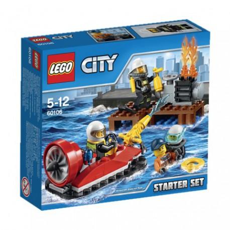LEGO - CITY FIRE - STRAŻACY - ZESTAW STARTOWY - 60106