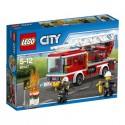 LEGO - CITY FIRE - WÓZ STRAŻACKI Z DRABINĄ - 60107