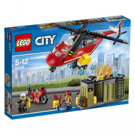 LEGO - CITY FIRE - HELIKOPTER STRAŻACKI - 60108