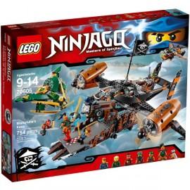 LEGO - NINJAGO - TWIERDZA NIESZCZĘŚCIA - 70605