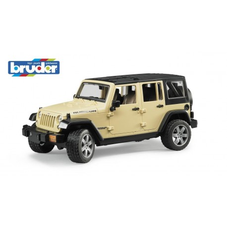 BRUDER - JEEP WRANGLER UNLIMITED RUBICON 1:16 - 02525