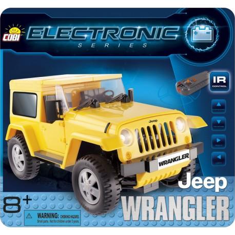 COBI - ELECTRONIC - JEEP WRANGLER - ŻÓŁTY [ IR ] - 21921