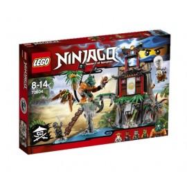 LEGO - NINJAGO - WYSPA TYGRYSIEJ WDOWY - 70604