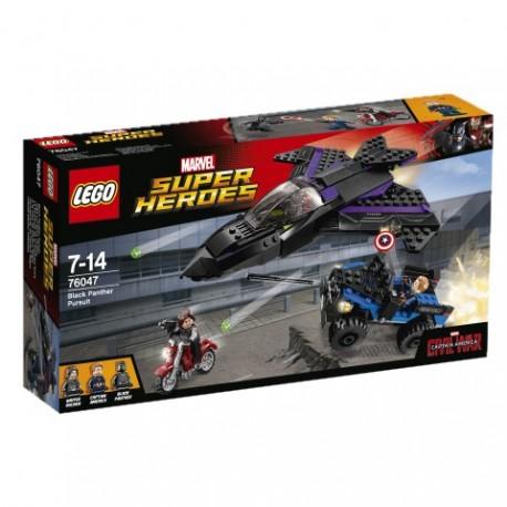 LEGO - SUPER HEROES - POŚCIG CZARNEJ PANTERY - 76047