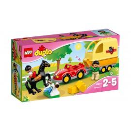 LEGO® - DUPLO® - PRZYCZEPA DLA KONI - 10807