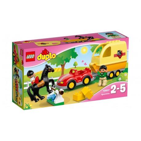 LEGO - DUPLO - PRZYCZEPA DLA KONI - 10807
