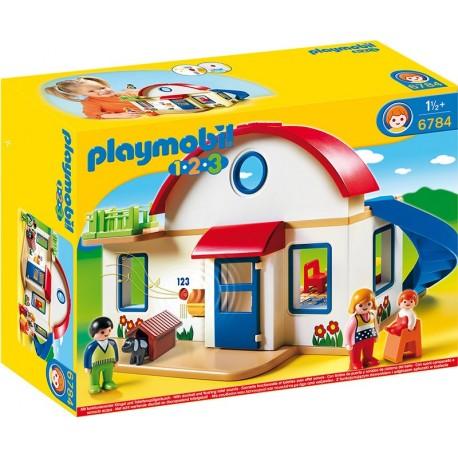 PLAYMOBIL - 123 - DOM MIESZKALNY - 6784