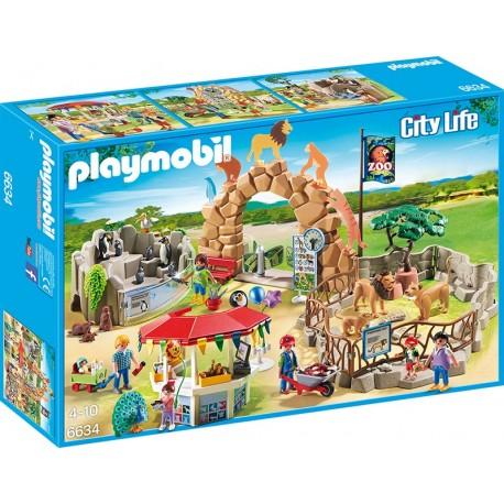PLAYMOBIL - CITY LIFE - MOJE DUŻE ZOO - 6634