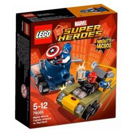 LEGO® - DC COMICS™ SUPER HEROES - KAPITAN AMERYKA KONTRA RED SKULL - 76065