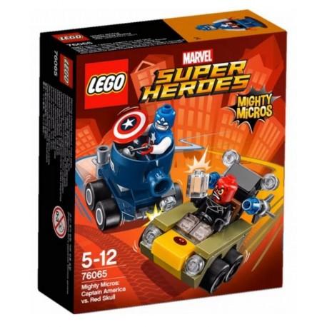 LEGO - SUPER HEROES - KAPITAN AMERYKA KONTRA RED SKULL - 76065