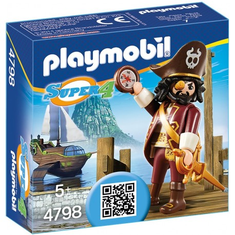 PLAYMOBIL - SUPER 4 - REKINOBRODY - 4798