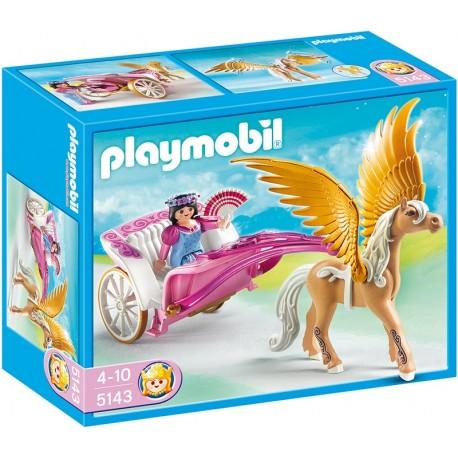 PLAYMOBIL - PRINCESS - KARETA PEGAZA - 5143