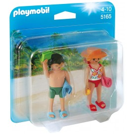 PLAYMOBIL - SUMMER FUN - DUO PACK - PLAŻOWICZE - 5165