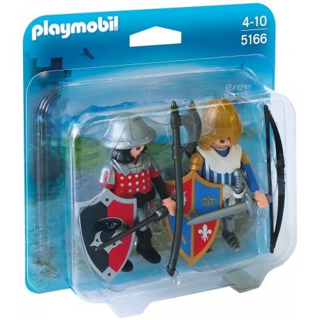 PLAYMOBIL - KNIGHTS - DUO PACK - RYCERZE - 5166