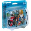 PLAYMOBIL - KNIGHTS - DUO PACK - RYCERZE - 5166