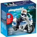 PLAYMOBIL - CITY ACTION - MOTOR POLICYJNY - 5185