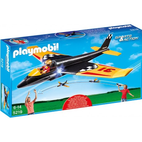 PLAYMOBIL - SPORTS & ACTION - SZYBOWIEC RACE GLIDER - 5219