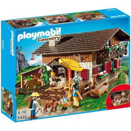 PLAYMOBIL - COUNTRY - GÓRSKA BAZA NOCLEGOWA - 5422