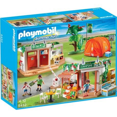 PLAYMOBIL - SUMMER FUN - DUŻY PLAC KEMPINGOWY - 5432