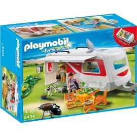 PLAYMOBIL - SUMMER FUN - PRZYCZEPA KEMPINGOWA - 5434