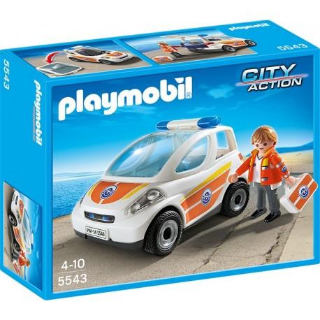 PLAYMOBIL - CITY ACTION - POJAZD POGOTOWIA RATUNKOWEGO - 5543