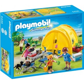 PLAYMOBIL - SUMMER FUN - RODZINNY NAMIOT - 5435