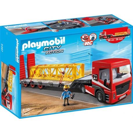 PLAYMOBIL - CITY ACTION - POJAZD DO TRANSPORTU CIĘŻKIEGO - 5467
