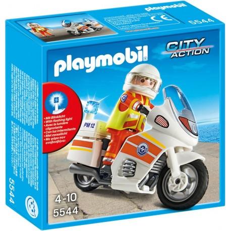 PLAYMOBIL - CITY ACTION - MOTOR POGOTOWIA RATUNKOWEGO - 5544