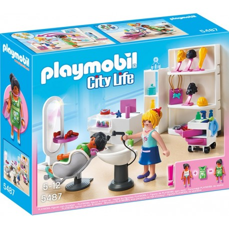 PLAYMOBIL - CITY LIFE - SALON KOSMETYCZNY - 5487