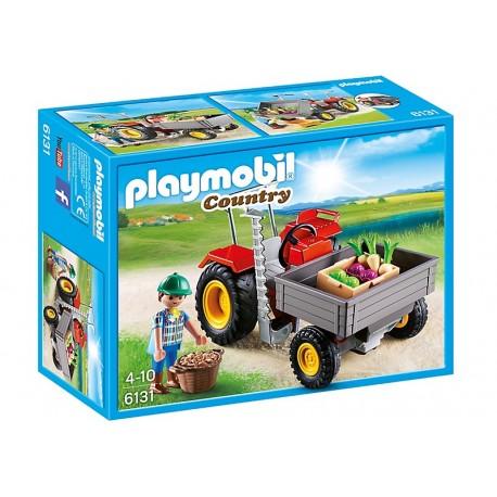 PLAYMOBIL - COUNTRY - TRAKTOR OGRODNICZY - 6131