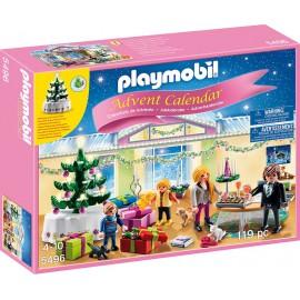 """PLAYMOBIL - CHRISTMAS - KALENDARZ """"WIGILIA Z CHOINKĄ"""" - 5496"""