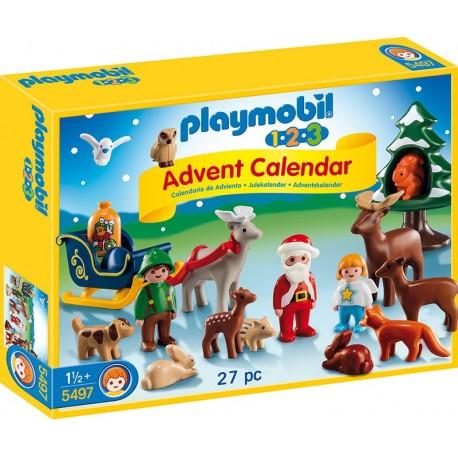 PLAYMOBIL - CHRISTMAS - KALENDARZ ADWENTOWY 1.2.3. - 5497