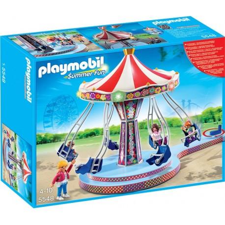 PLAYMOBIL - SUMMER FUN - KARUZELA ŁAŃCUCHOWA - 5548