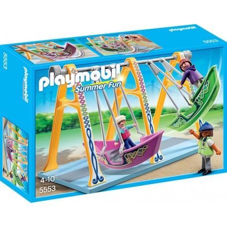 PLAYMOBIL - SUMMER FUN - HUŚTAWKA-ŁÓDKA - 5553