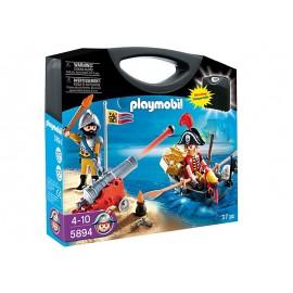 PLAYMOBIL - PIRATES - SKRZYNKA WALIZKA - PIRACI - 5894