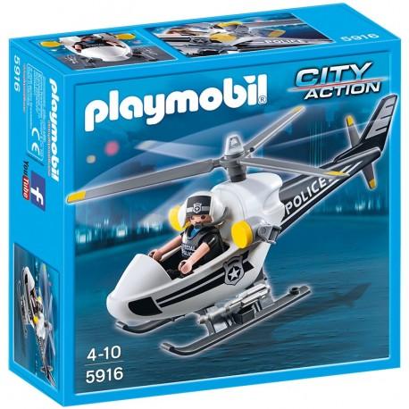 PLAYMOBIL - CITY ACTION - HELIKOPTER POLICYJNY - 5916