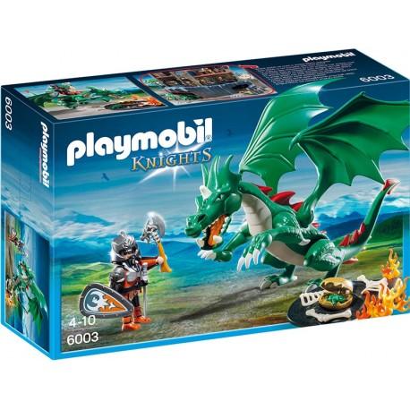 PLAYMOBIL - KNIGHTS - WIELKI SMOK ZAMKOWY - 6003
