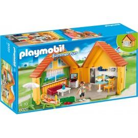 PLAYMOBIL - SUMMER FUN - SKŁADANY DOMEK LETNISKOWY - 6020