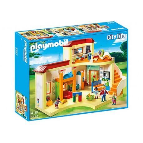 "PLAYMOBIL - CITY LIFE - PRZEDSZKOLE ""PROMYK SŁOŃCA"" - 5567"