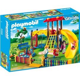PLAYMOBIL - CITY LIFE - PLAC ZABAW DLA DZIECI - 5568