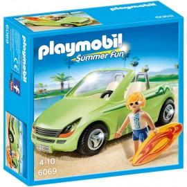 PLAYMOBIL - SUMMER FUN - SURFER Z KABRIOLETEM - 6069