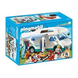 PLAYMOBIL - SUMMER FUN - RODZINNE AUTO KEMPINGOWE - 6671