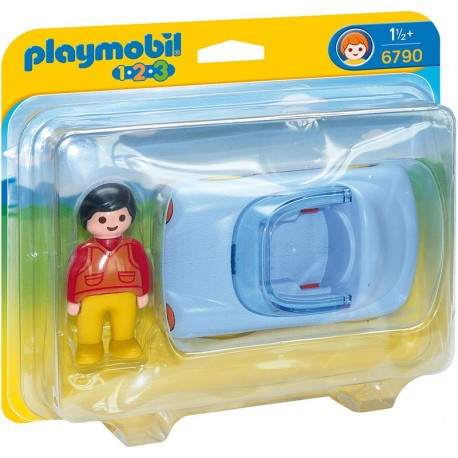 PLAYMOBIL - 123 - KABRIOLET - 6790