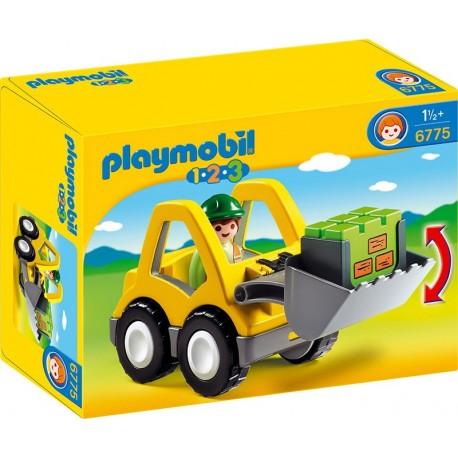 PLAYMOBIL - 123 - KOPARKA - 6775