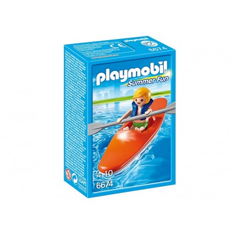 PLAYMOBIL - SUMMER FUN - KAJAK DLA DZIECI - 6674