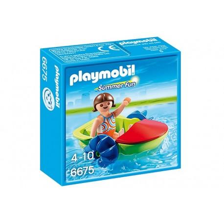 PLAYMOBIL - SUMMER FUN - ZABAWA Z ŁODZIĄ - 6675