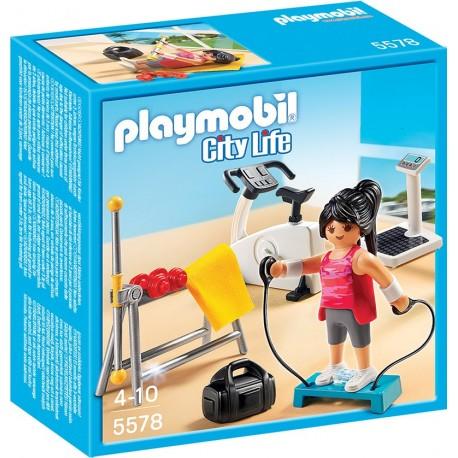 PLAYMOBIL - CITY LIFE - SIŁOWNIA - 5578