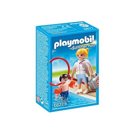 PLAYMOBIL - SUMMER FUN - RATOWNICZKA WODNA - 6677